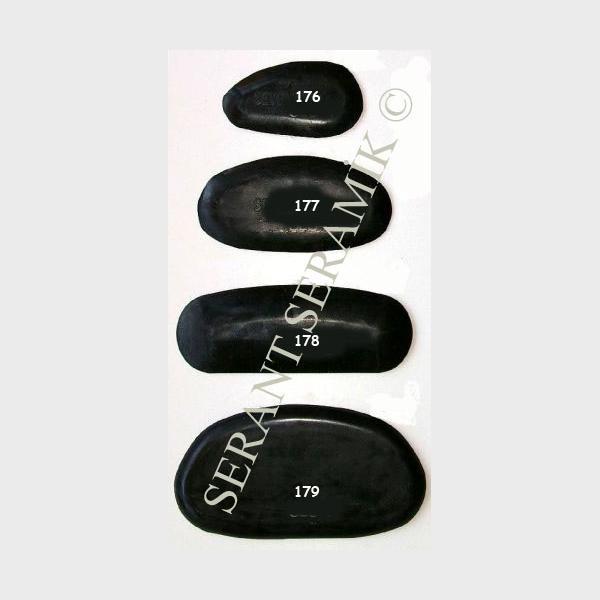 176-179 Siyah Lastik Sistreler